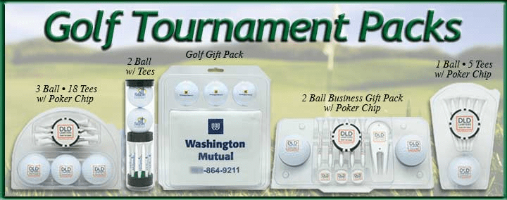 Golf Tournament packs