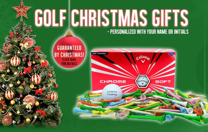 Christmas - Golf Christmas Gifts Great Ideas For Golf Lovers LogoedGolfBalls.com