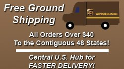 Free U.S. Ground Shipping